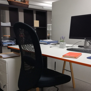 Büroarbeitsplatz Coworking Space