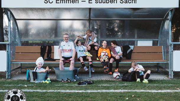 SC Emmen - E suuberi Sach! Neue Umkleide- und Duschkabinen