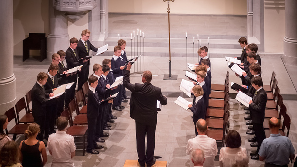 Konzertreise der Luzerner Sängerknaben