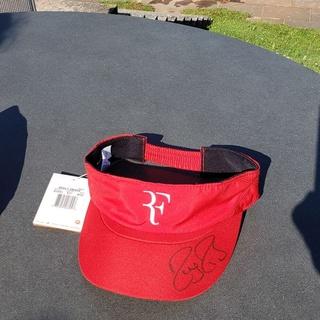 Roger Federer - Sunprotector rot, signiert