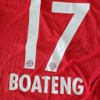 Trikot, Jerome Boateng, signiert