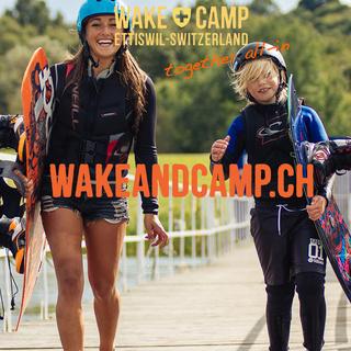Werbeauftritt als Hauptsponsor auf wakeandcamp.ch