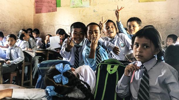 Trinkwasser für eine Schule in Nepal