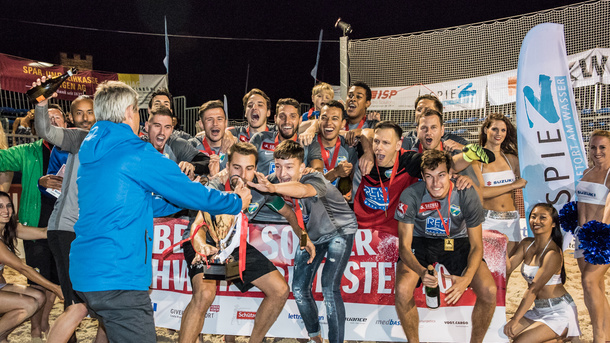 Beach Soccer Euro Winners Cup in Nazaré POR