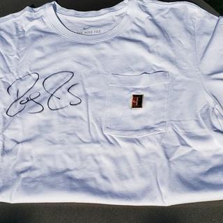 Roger Federer - T-Shirt, signiert