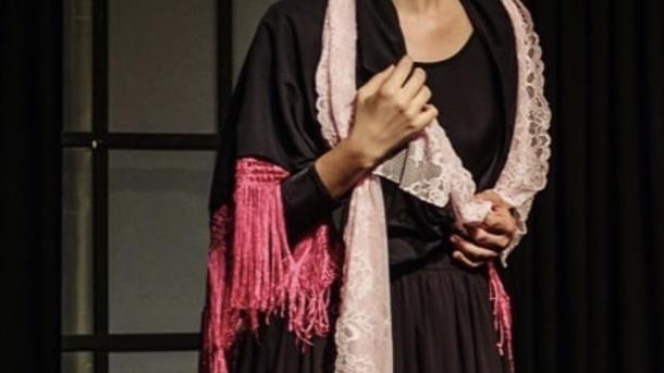 Theateraufführung Haus der Bernarda Alba/ Спектакль Дом Бернарды Альбы