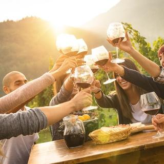 Wein-Event für 50 Personen