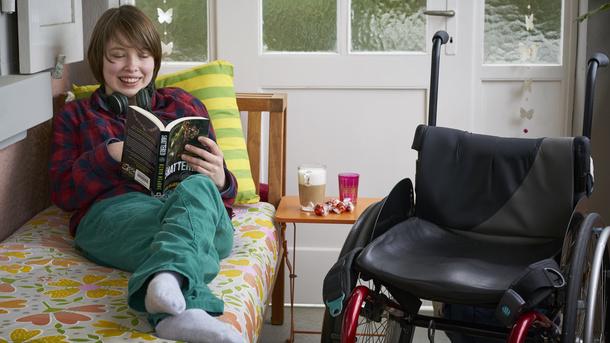 Fahrzeug für Behindertentransport