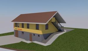 Pfadihütte Beckenried ohne Hypothek in die Zukunft