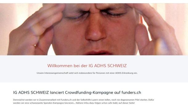 IG ADHS SCHWEIZ LERNGRUPPEN