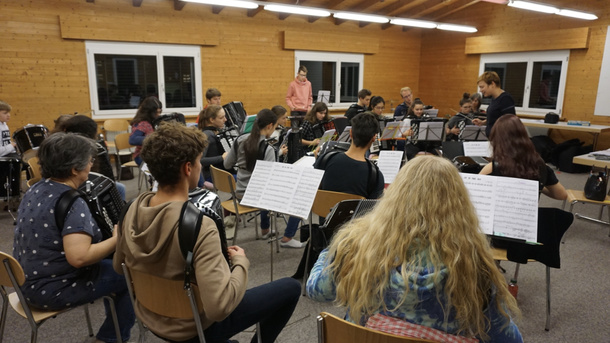 Jugend Akkordeon Orchester nimmt am World Music Festival teil