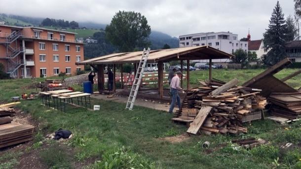 Neuanlegung der Familiengärten in Sarnen