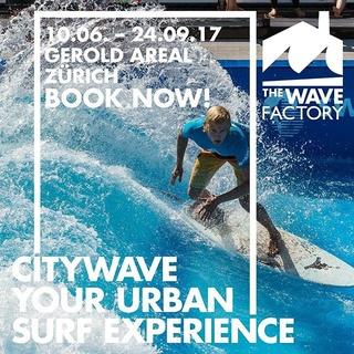 Gewinne für fünf Personen eine Surf-Session TROJKA Energy City Wave in Zürich. Plus sofort ein 6-Pack TROJKA Energy