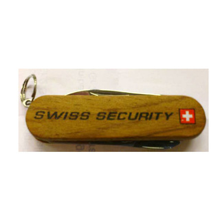 "Taschenmesser ""SWISS-SECURITY"""