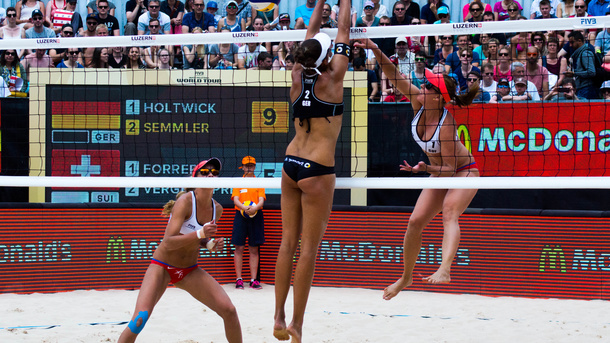 FIVB Beachvolleyball 4 Stars Event Luzern