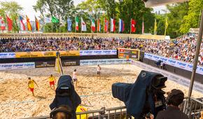 FIVB Beachvolleyball 4 Stars Event Luzern