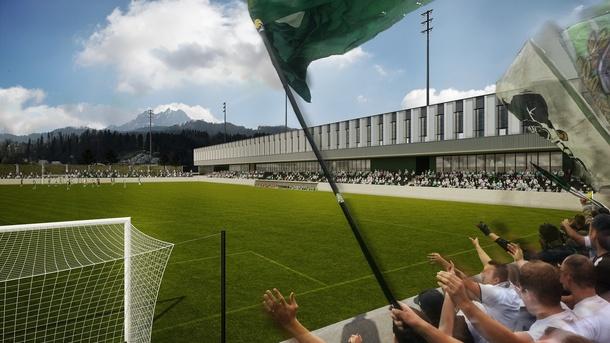 SC Kriens: Bau mit uns das neue Kleinfeld und werde Stadionbauer!