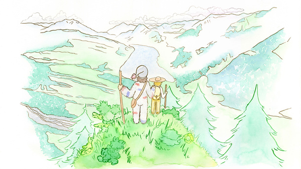 Peter und die Wilden