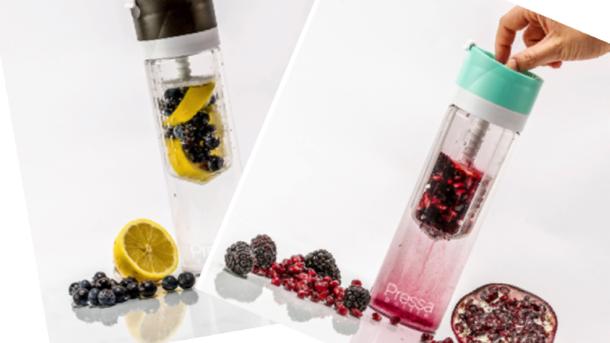 Twist n' Press - Bring deine Frucht in die Trinkflasche