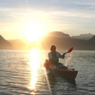 Kanufahrt in den Sonnenaufgang und anschliessendem Brunch für 2 Personen