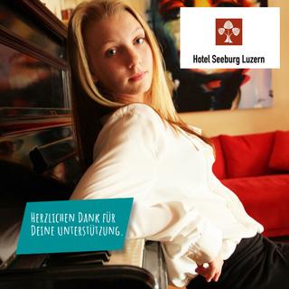 Apéro im Hotel Seeburg mit Song