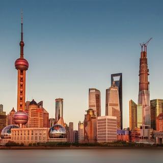 Dankeskarte aus Shanghai