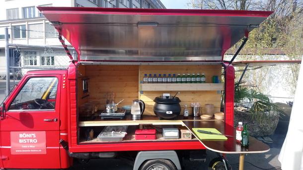 BÖNI'S BISTRO - Hilf Böni beim Umbau zu seinem Food-Truck