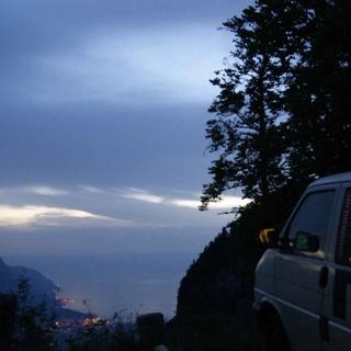 Romantisches Fondue und Übernachtung im VW-Bus für zwei