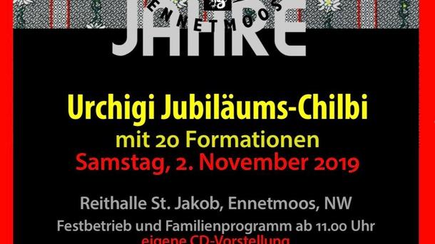 Jubiläums-CD 20 Jahre Volksmusikverein Ennetmoos
