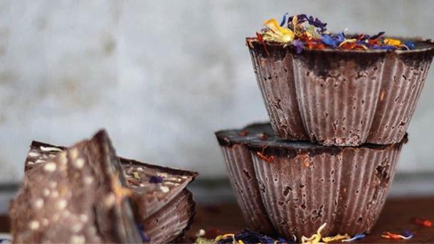 Pflanzliche Bio-Snacks und Erfrischungen in Rohkostqualität