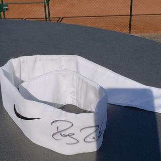 Roger Federer - Stirnband signiert, sehr selten