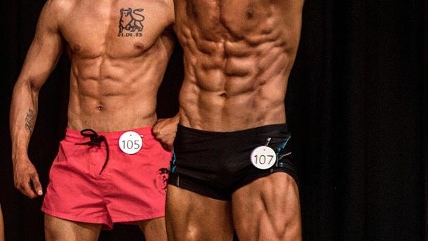 Mens Physique Welt- und Schweizermeisterschaft 2018