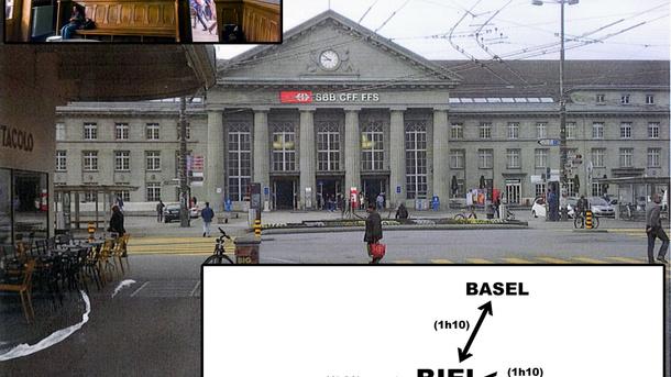 Robert Walser-Sculpture - Thomas Hirschhorn Biel/Bienne 2019